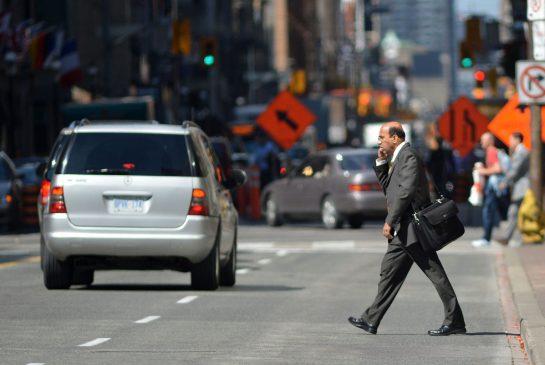 pedestrian jaywalking hit by car attorney