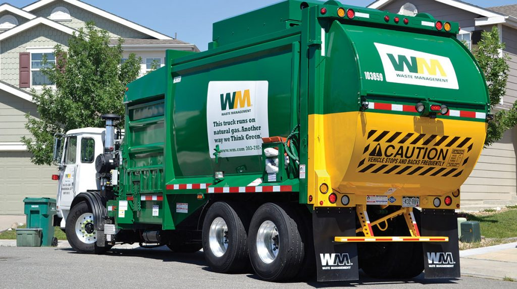 Garbage Truck in California